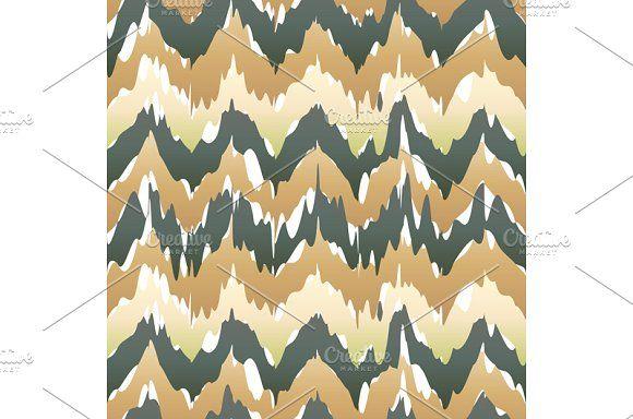 Seamless ikat pattern by Rommeo79 on @creativemarket