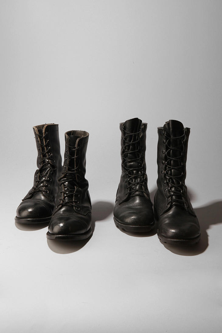 Urban Renewal Vintage Men's Combat Boot which appear to be dancing....