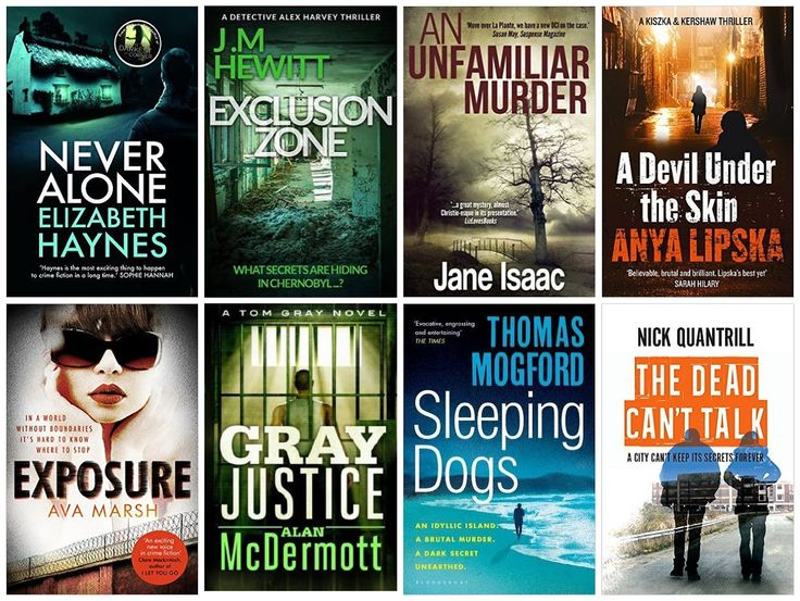 Crime + Thriller Print Book Giveaway #BritCrime
