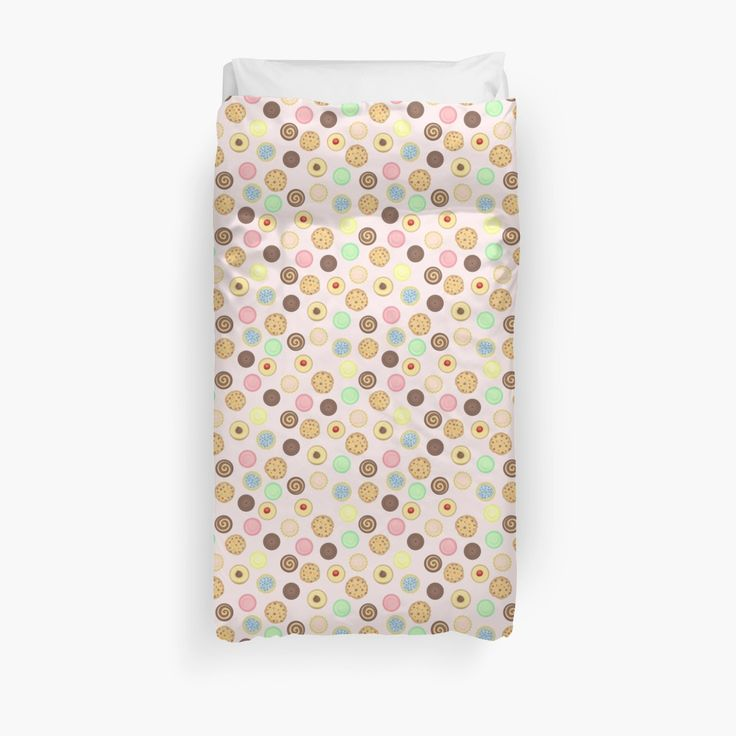Cookies Pattern Duvet Covers by AnMGoug on Redbubble. #cookies #pattern #duvet #bedroom