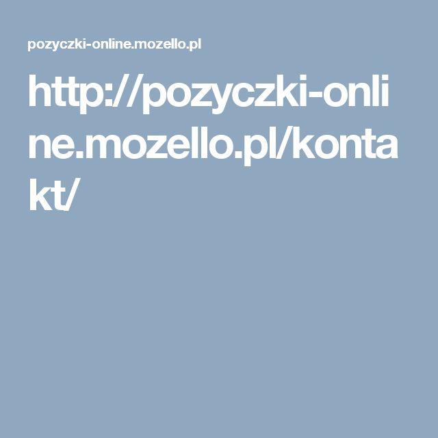 http://pozyczki-online.mozello.pl/kontakt/