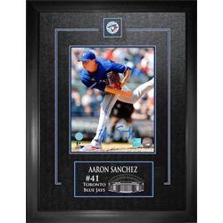 Sanchez,A Signed 8x10 Framed Blue Jays Blue-V