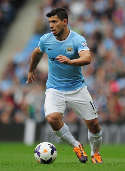 Kun Agüero! Delantero de Manchester City!! ♥️