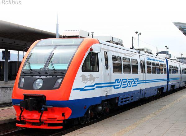 Ulaanbaatar Railway Rebranding on Behance