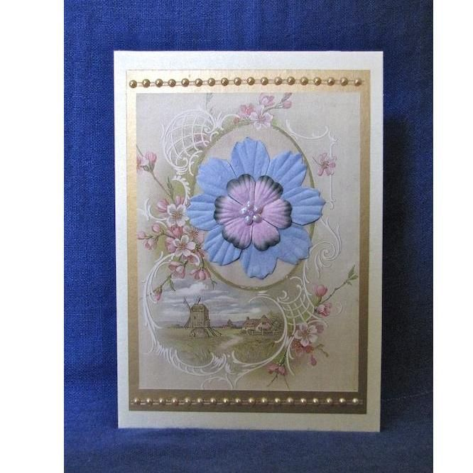 Love the colours in this pretty floral card from Paper Works for $4.