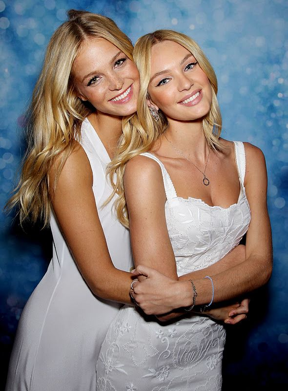 The gallery for --> Candice Swanepoel And Erin Heatherton ...