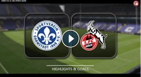 HD Video Highlights: SV. Darmstadt 98 vs 1. FC Koln - 1. Bundesliga - 28 January 2017. Watch video highlights of 1 Bundesliga match: SV. Darmstadt 98 ...