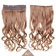 grampo+em+1pc+sintética+mulheres+de+cabelo+24inch+60+centímetros+grande+onda+longas+extensões+de+cabelo+encaracolado+#+27+cor+do+cabelo+–+BRL+R$+67,53