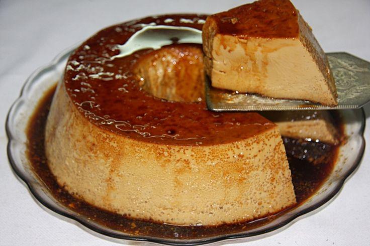 PUDIM DE CAFÉ - http://www.sobremesasdeportugal.pt/pudim-de-cafe-4/
