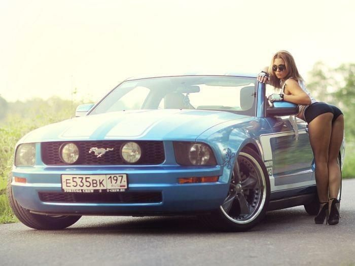 Hots Nudes Girls In Ford Mustang Scenes