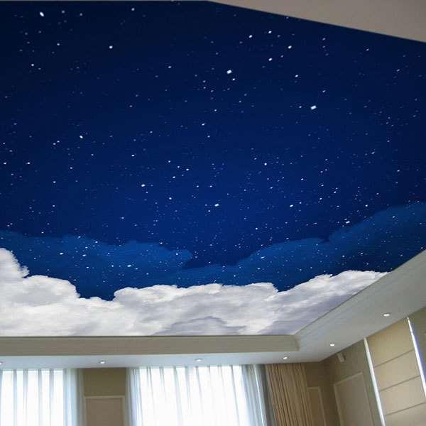 yıldızlı tavan dekorasyonu