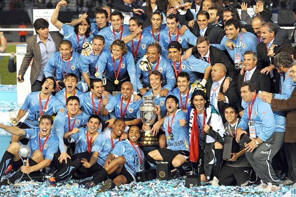 El mejor seleccion del mundo! La Celeste!  The best national team in the world!
