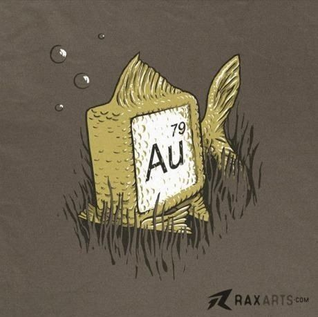 Gold fish-lol- chemistry geeks meet biology geeks... Gold fish would love this has a shirt