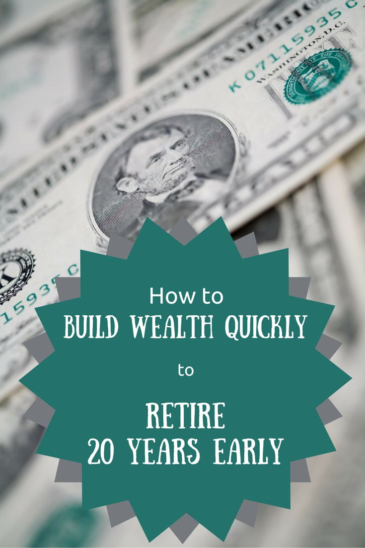 Want to retire early? Learn how to make it happen here. http://www.doughroller.net/wealth/build-wealth-quickly-can-retire-early/?utm_campaign=coschedule&utm_source=pinterest&utm_medium=Dough%20Roller&utm_content=How%20to%20Build%20Wealth%20Quickly%20So%20You%20Can%20Retire%20Early