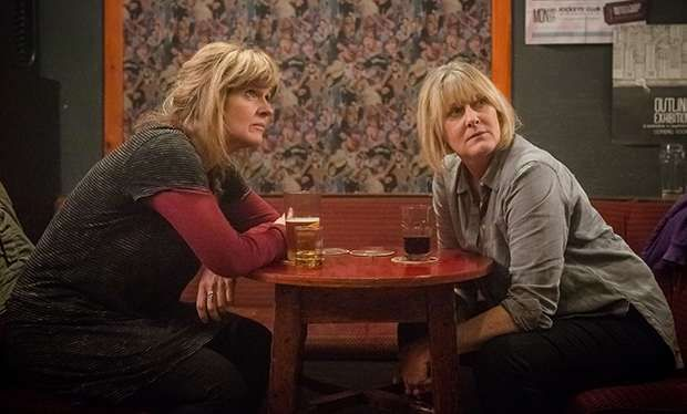Siobhan Finneran & Sarah Lancashire | Actors and stars of the BBC crime drama television series 'Happy Valley'.