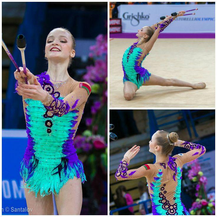 Aryna Sushchynskaya (Belarus), junior, clubs 2017
