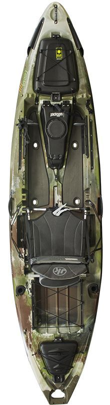 This 'heavy duty' fishing craft boasts amped up specs/features and is slightly longer and wider than the original Coosa; this makes it even more stable and a perfect fit for anglers of all sizes or those who are really looking for a stand up fishing kayak.