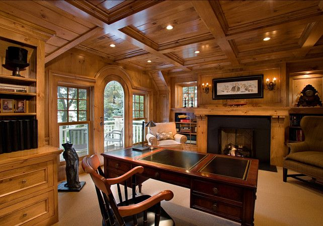 #Masculine home Office #Office