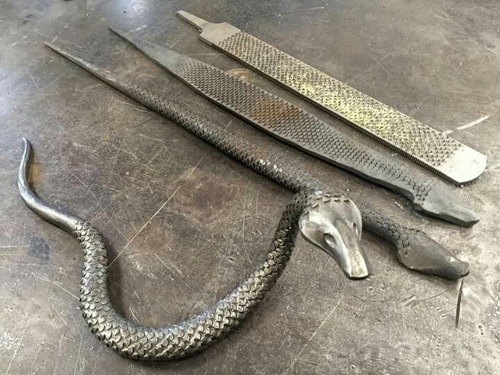 Rasp snake