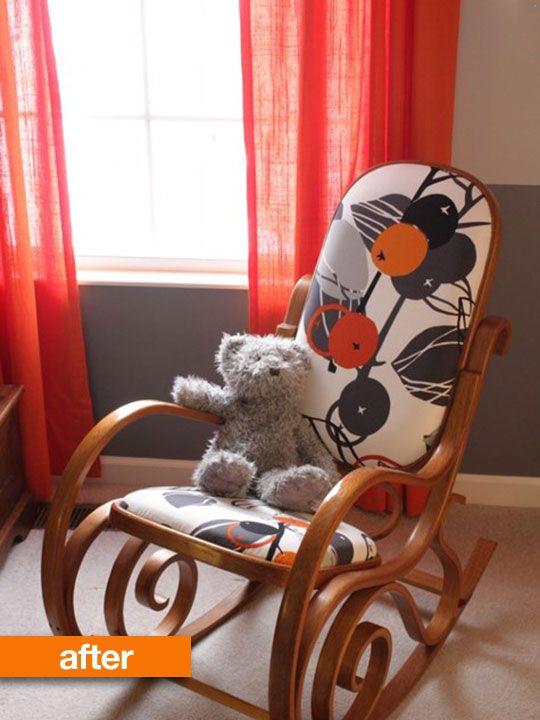 Design Sponge reader Kari found a rocking chair on Craigslist for $ 10 ...