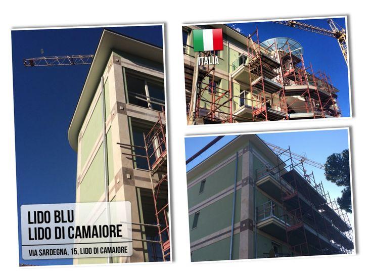 Complesso #immobiliare Lido Blu a lido di #Camaiore. Composto da n.8 prestigiosi appartamenti, a due passi dal mare, realizzati in classe energetica A. Contattateci per informazioni