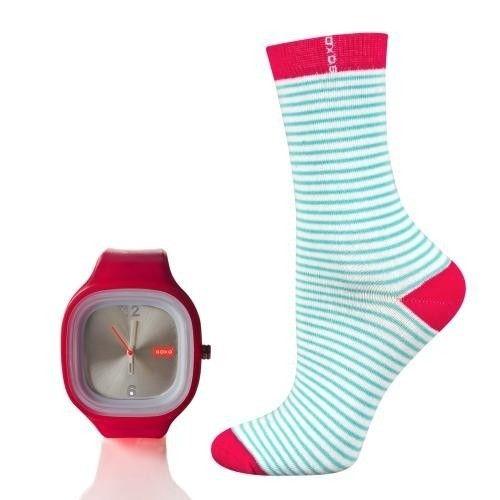 "SOXO Women's ""Watch my socks"" set   WOMEN \ Socks   SOXO socks, slippers, ballerina, tights online shop"