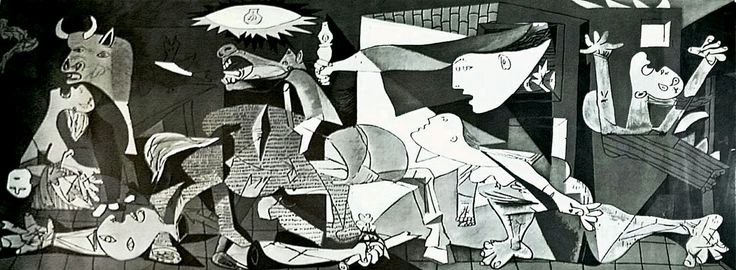 Excited to share the latest addition to my #etsy shop: Pablo Picasso Guernica 1937 Original Lithograph MoMA Edition #art #print #black #lithograph #christmas #silver #fineartprint #lifelessman #pablopicasso http://etsy.me/2C7iYMH