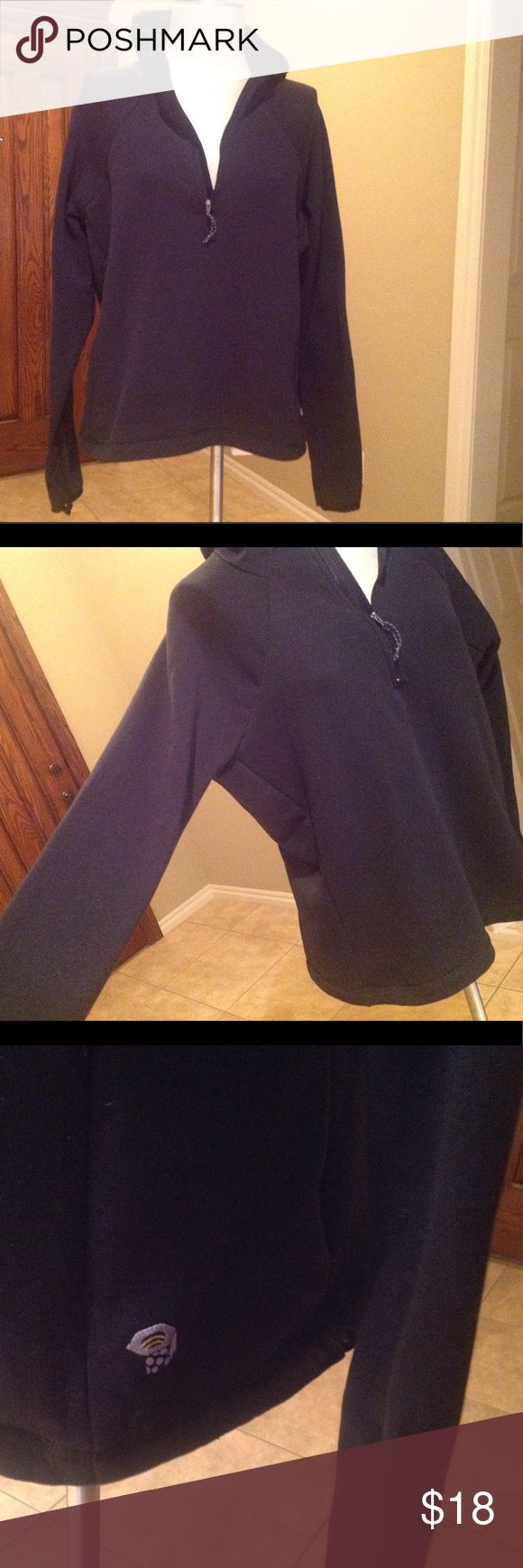 Mountain HardWear jacket Perfect condition! The only flaws are just the  loose thread on both sleeves that needs to be sewn back. Price reflect no return please. Mountain Hardwear Tops Sweatshirts & Hoodies