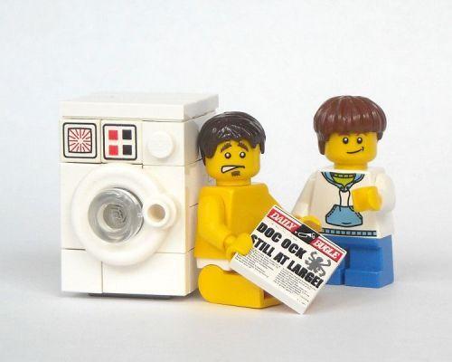 lego washing machine washing machines pinterest lego machines laver et briques. Black Bedroom Furniture Sets. Home Design Ideas