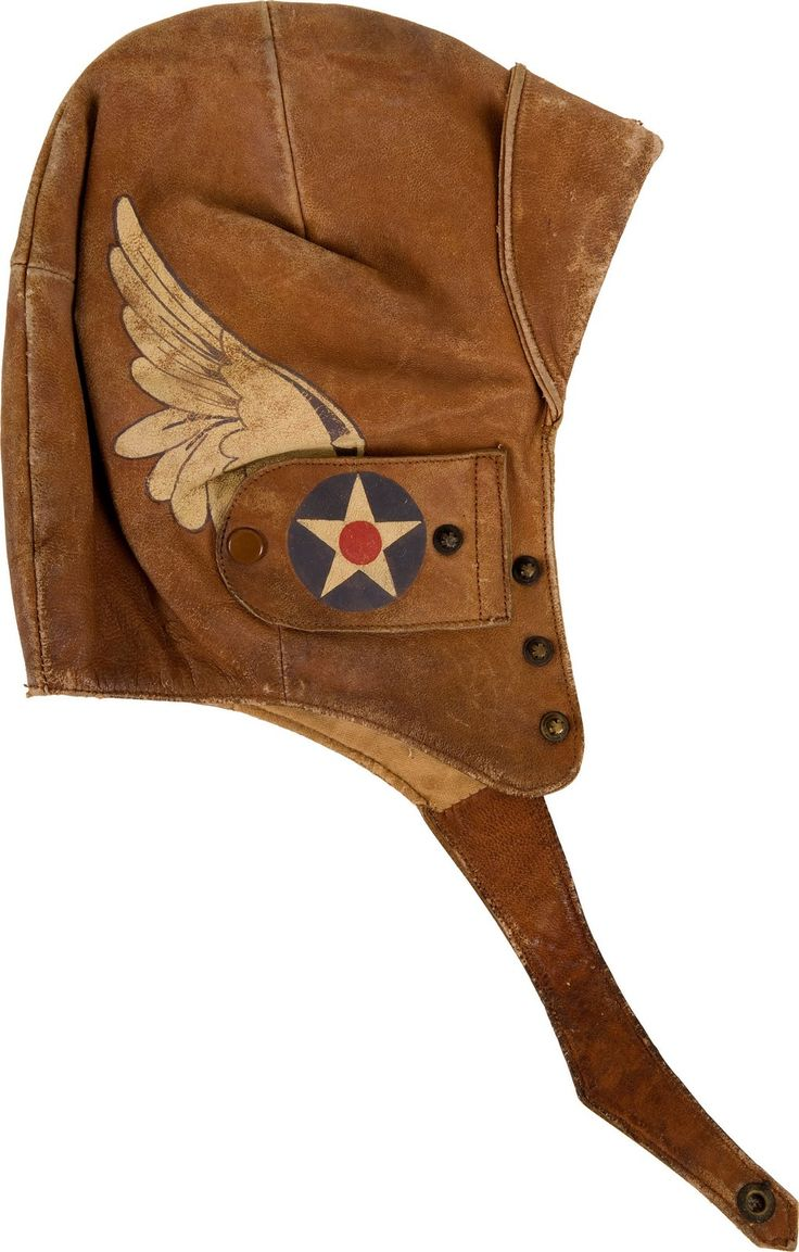 "Belonged to WWI air serviceman, stunt pilot, and barnstormer Ormer Leslie Locklear - ""King of the Wing Walkers."" Explains the wings on Captain America's costume that I've always been curious about."