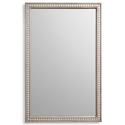 Mirror for  dining room above sideboard- Emporium Home Cabochon Cream Wall Mirror