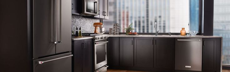 Black Stainless Kitchen Appliances Google Search New