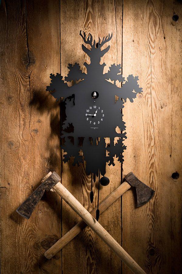 Diamantini & Domeniconi cuckoo clocks on Behance Photo: Giorgio Gori www.gorifotografo.com