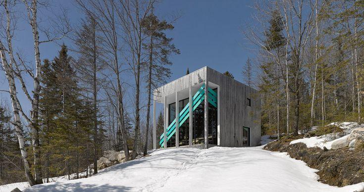 Maison Lac Jasper by Architecturama