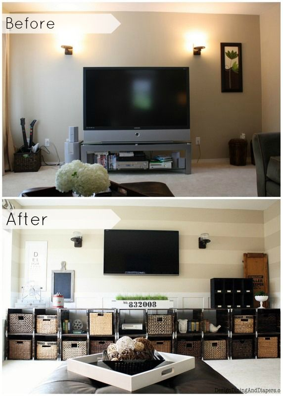Maybe something like this but not totally this...even to hid remotes and toys