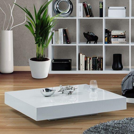 Salontafel Danny - hoogglans wit | home24.nl