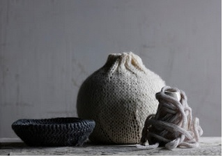 Interior styling by Lara Hutton in beautiful woollen neutrals, photography by Jason Loucas #jasonloucas #larahutton #wool #neutral #styling #interiors #vessels
