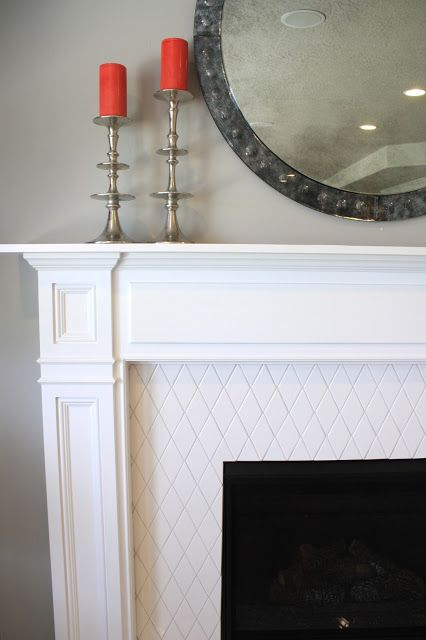 6th Street Design School: Salt Lake Parade of Homes.  The fireplace tile!