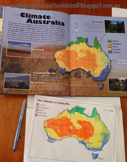 PRINTABLE worksheet on Australian Climate and Wind Turbines - The Climate of Australia and Renewable Energy