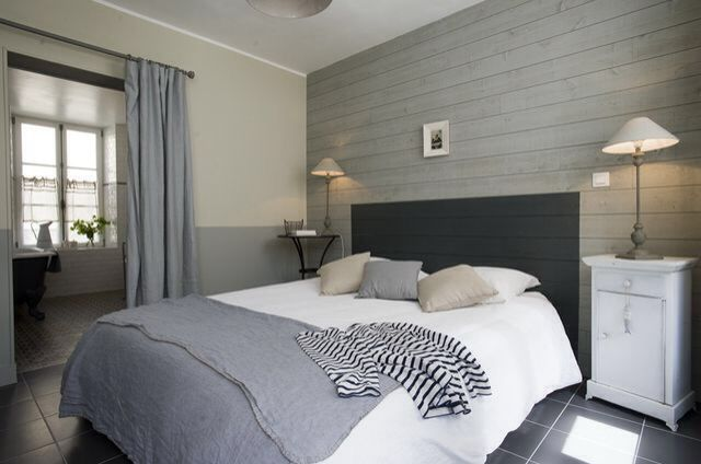 Lambris chambre chambre louise pinterest for Chambre lambris