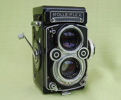 Appareil Photo Argentique Rolleiflex 3 5F | eBay