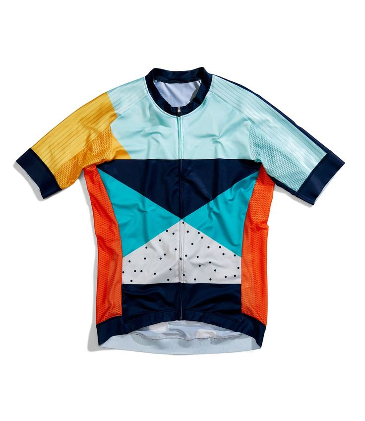 The Outrider Colour Block Road Cycling Jersey