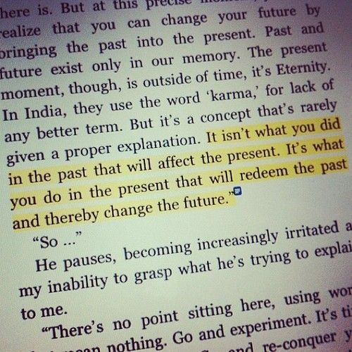 Its not what you did in the past its what you do in the present that will redeem the past<3