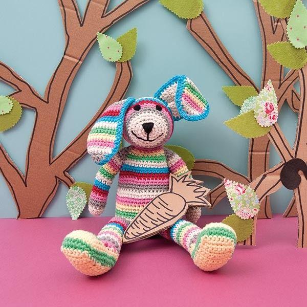Rico Crochet kit Lenny Rabbit