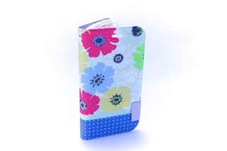 Estuche Flores rosadas azules blancas Moto G — HighTeck Store