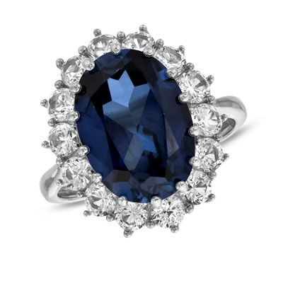 Princess Diana Style Bypass Ring