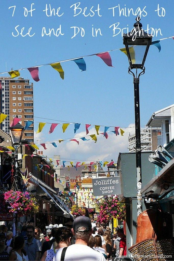 Visit Brighton, Brighton England, Brighton, Brighton UK, The lanes, Blog, Travel Blog, Taylor Hearts Travel