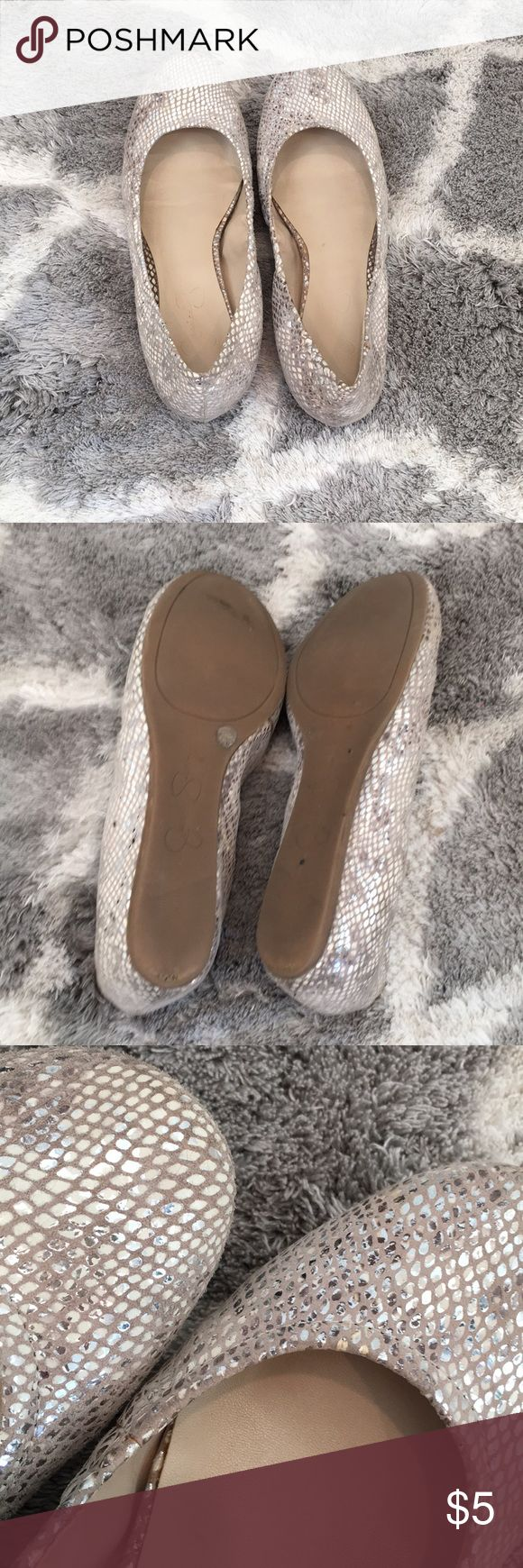 Jessica Simpson Flats Just the right amount of bling! Jessica Simpson Shoes Flats & Loafers