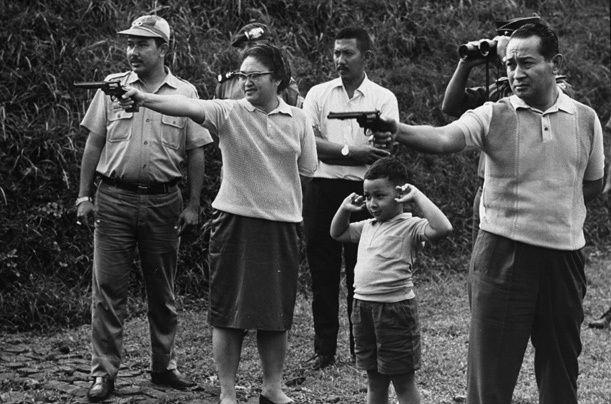 Soeharto and family