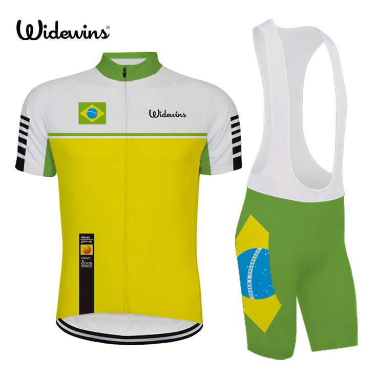Brazil Men Pro Breathable comfortable Cycling Jersey brand high quality outdoor sports clothing brazil basketball jersey 6540